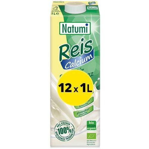 Natumi - Bezmleczny Napój Mleko Ryżowe z Wapniem 12x1L ZESTAW EKO