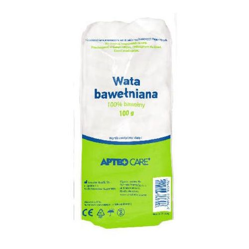Synoptis pharma Apteo wata 100% bawełny 100g