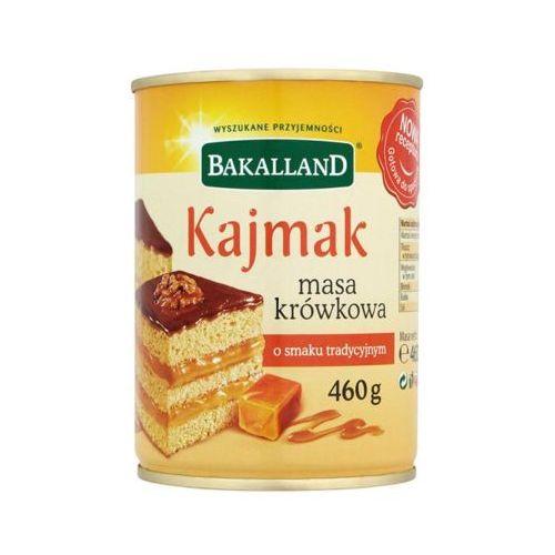 BAKALLAND 460g Kajmak Masa krówkowa o smaku tradycyjnym