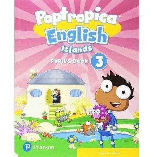 Poptropica English Islands 3. Pupils Book + Online World Access Code - książka (9781292312927)