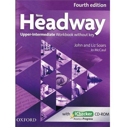 New Headway: Upper-Intermediate B2: Workbook + iChecker with (2017)