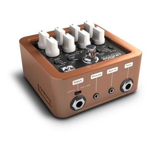 Palmer MI POCKET AMP ACOUSTIC przenośny przedwzmacniacz do gitar akustycznych, efekt gitarowy