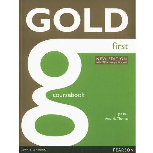 Gold First. Podręcznik + Audio Online, oprawa miękka