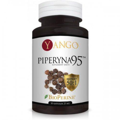 Piperyna 95 - ekstrakt (30 kapsułek) YANGO (5905279845657)