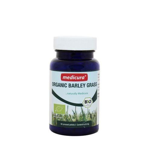 Trawa jęczmienna w pastyl. bio 65,8 g (90 szt.)- m marki Medicura (soki aloe i noni)
