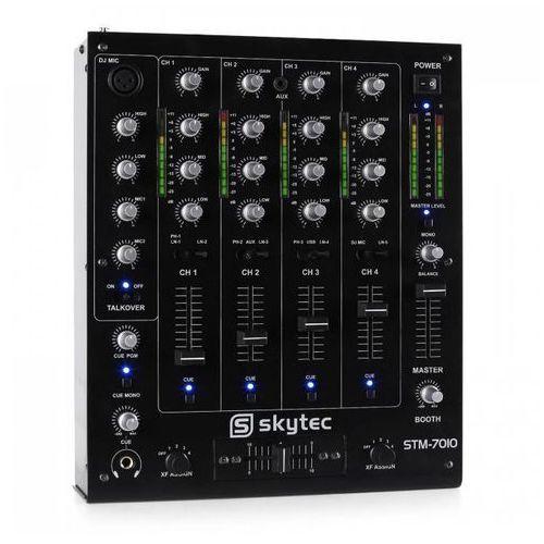 Pulpit mikserski dla dj'ów stm-7010 4-kanałowy usb mp marki Skytec