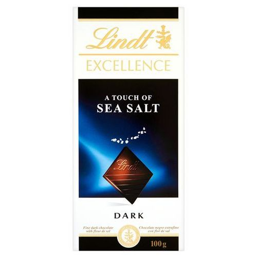 Lindt Czekolada excellence seasalt z solą morską 100g (3046920029674)