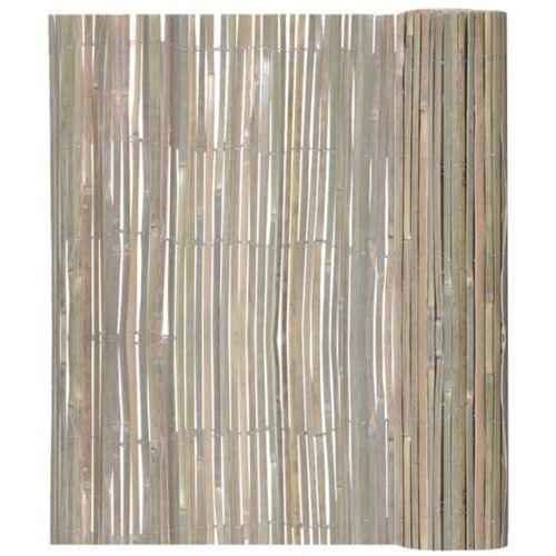 vidaXL Ogrodzenie bambusowe 150 x 400 cm