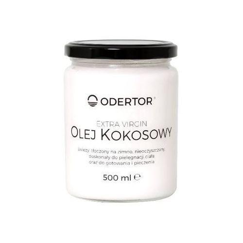Olej kokosowy extra virgin 500 ml nierafinowany marki Odertor manufaktura