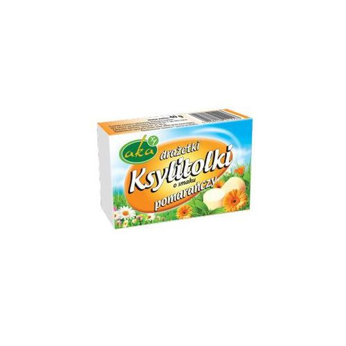 Aka Draże ksylitolowe pomarańczowe 40g