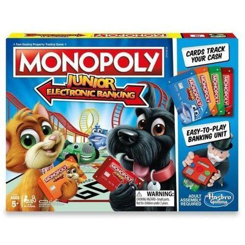 Monopoly Junior Electronic Banking - DARMOWA DOSTAWA OD 199 ZŁ!!!