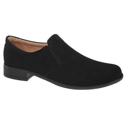 8c512cc4a0ad6 ... Kmk Półbuty mokasyny buty komunijne wizytowe 160 czarne n wsuwane -  czarny 99,90 zł Buty KMK 160N Czarne eko-Nubuk » ...