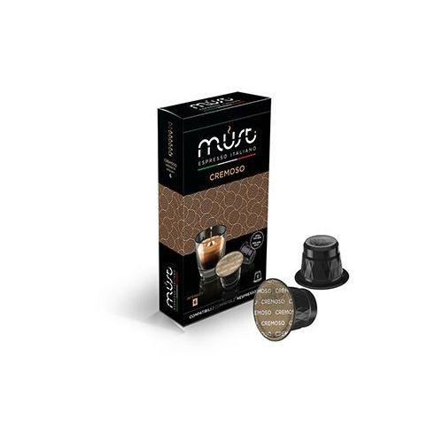 Must Kapsułki do nespresso* kremowa/cremoso 10 kapsułek - do 12% rabatu przy większych zakupach oraz darmowa dostawa (8056370761029)