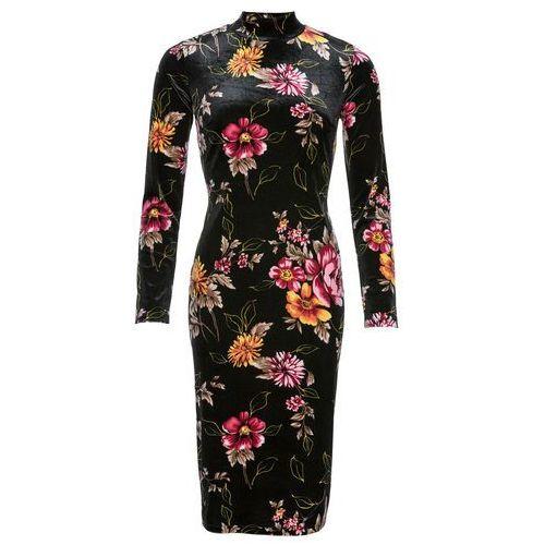 Sukienka z koronką czarny, Bonprix, 32-46