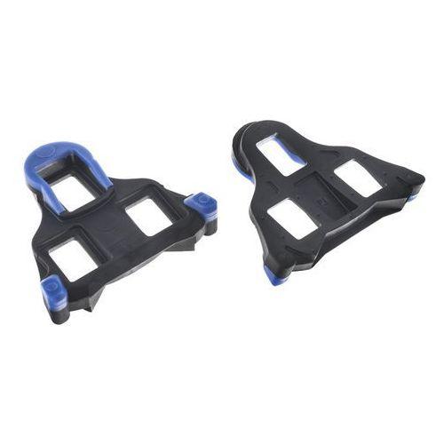 Bloki pedałów smsh12 spd-sl szosa, dwustopniowe, niebieskie marki Shimano