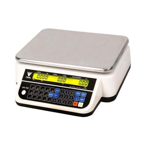 Waga elektroniczna Digi DS-782 (DS-782B, płaska)