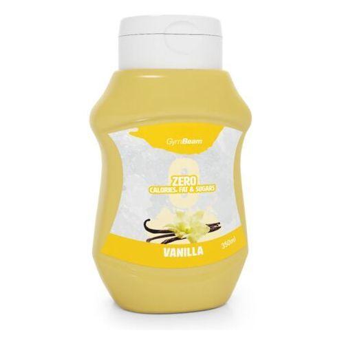 syrop bez kalorii waniliowy 350 ml marki Gymbeam