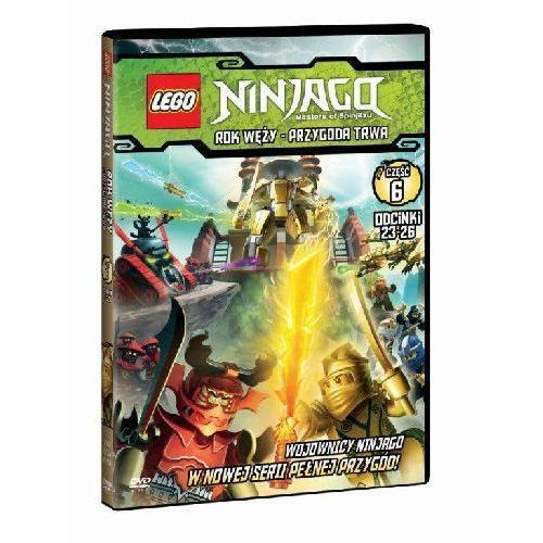 Film GALAPAGOS Lego Ninjago. Rok Węży - Przygoda trwa. Część 6 Ninjago: Masters of Spinjitzu