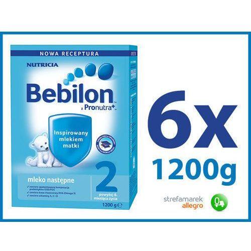 Bebilon 2 z Pronutra+ mleko modyfikowane ZESTAW 6x1200g (mleko dla dzieci)