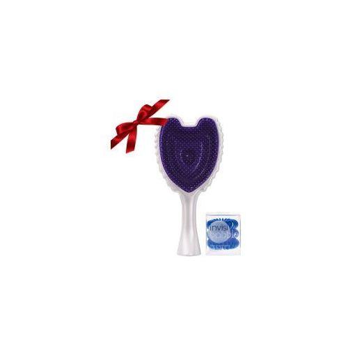 Prezent: szczotka + gumki do włosów invisibobble marki Tangle angel