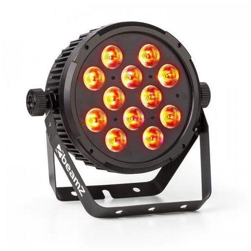 BT310 Projektor FlatPAR 12x 8 W 4 w 1 LED RGBAW-UV DMX pilot na podczerwień
