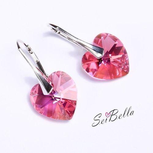 Serca Swarovskiego w srebrze, produkt marki Seibella