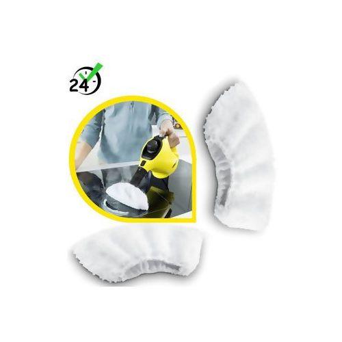 Powłoczki z mikrofibry (2szt), do SC 1 - SC 5, Karcher ✔ZAPLANUJ DOSTAWĘ ✔SKLEP SPECJALISTYCZNY ✔KARTA 0ZŁ ✔POBRANIE 0ZŁ ✔ZWROT 30DNI ✔RATY ✔GWARANCJA D2D ✔LEASING ✔WEJDŹ I KUP NAJTANIEJ, 2.863-270.0