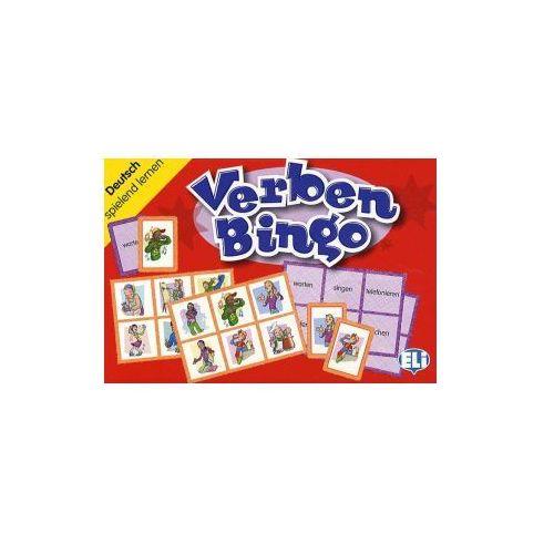 Gra językowa Niemiecki Verben Bingo. Opr. karton, praca zbiorowa