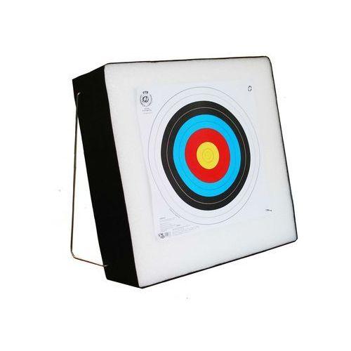 Mata łucznicza 60x60x20 cm piankowa + stelaż marki Nn