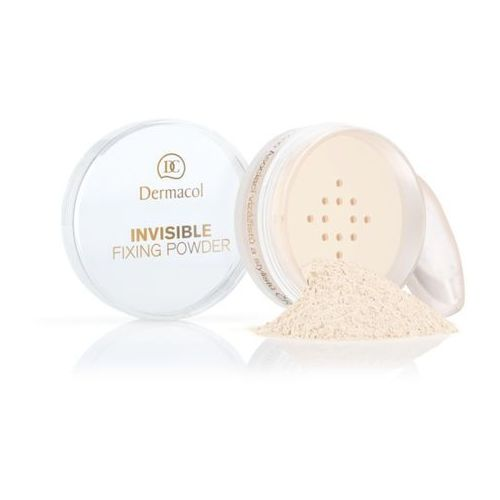 invisible fixing powder | utrwalający puder transparentny - natural 13,5ml marki Dermacol