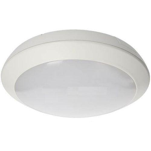 Plafon ORNO PL-6044WLPMM4 Bryza LED z czujnikiem ruchu Biały