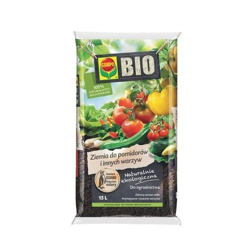 Compo Ziemia do pomidorów i warzyw bio : pojemność - 15 l (4008398129293)