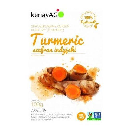 Turmeric-sproszkowany korzeń kurkumy 100g (5900672150988)