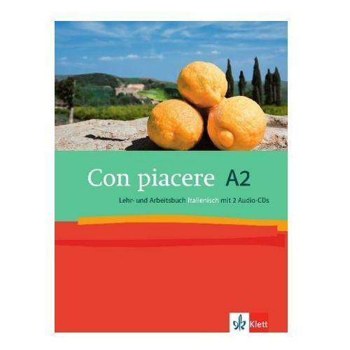 Con piacere A2, Lehr- und Arbeitsbuch Italienisch, m. 2 Audio-CDs (9783125251830)