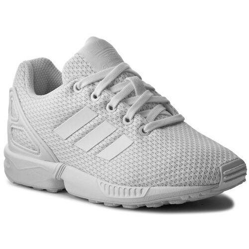 005ffb55ca6ef Buty adidas - Zx Flux C S76296 Ftwwht/Ftwwht/Ftwwth, kolor biały 189,00 zł  wygodne, sznurowane trzewiki dziecięce marki adidas. Wytrzymała cholewka to  skóra ...