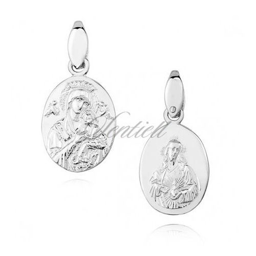 Sentiell Silver (925) pendant - jesus christ / our lady of perpetual help / blessed virgin - ks0164