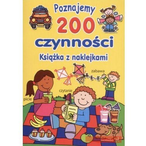 Poznajemy 200 czynności. Książka z naklejkami, David Crossley