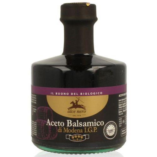 Alce nero (włoskie produkty) Ocet balsamiczny z modeny premium bio 250 ml - alce nero (8009004811010)