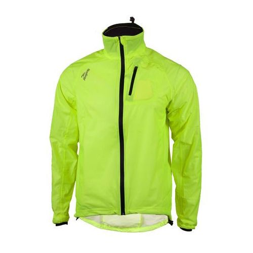 ROGELLI OHIO - przeciwdeszczowa kurtka rowerowa, kolor: Fluor (kurtka męska) od Mike SPORT