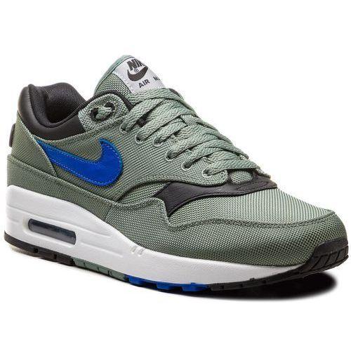 Nike Buty - air max 1 premium 875844 300 clay green/hyper royal/white