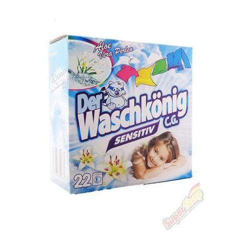 Waschkonig proszek sensitive 2kg na 22prania (proszek do prania ubrań)