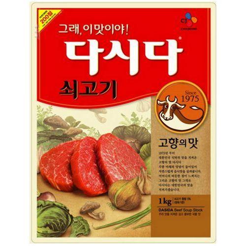 Bulion wołowy Dashida 1kg - CJ (Cheiljedang)