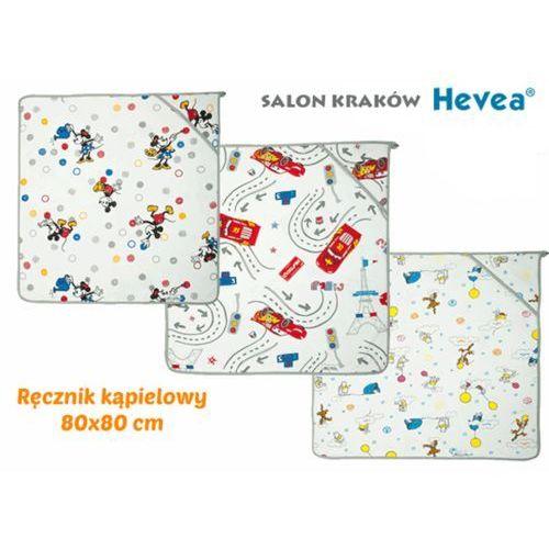 Ręcznik kąpielowy disney baby 80x80 marki Hevea