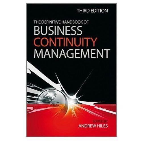 Definitive Handbook of Business Continuity Management (9780470670149)