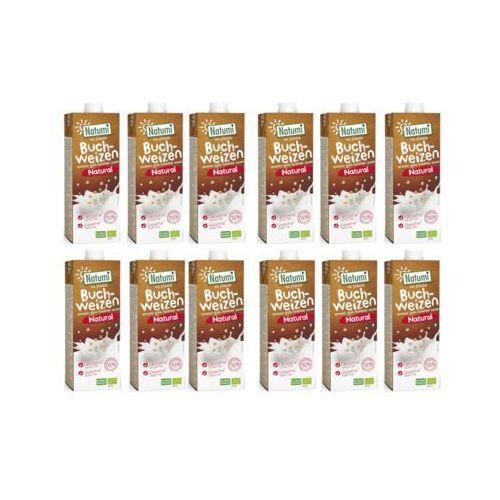 Zestaw 12x napój gryczany naturalny niesłodzony bio 1l marki Natumi