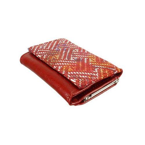 e29fd140bfeb5 Perfekt plus 14/3 ii bigiel/zatrzask czerwony, portfel damski - czerwony  99,90 zł Portfel żeński. Naturalna skóra. Portfel posiada m.in.