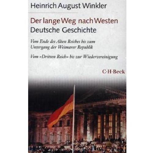 Der lange Weg nach Westen. Deutsche Geschichte, 2 Bde. (9783406660801)