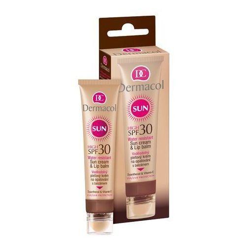Dermacol Sun Cream & Lip Balm SPF30 preparat samoopalający do twarzy 30 ml dla kobiet (8595003100533)