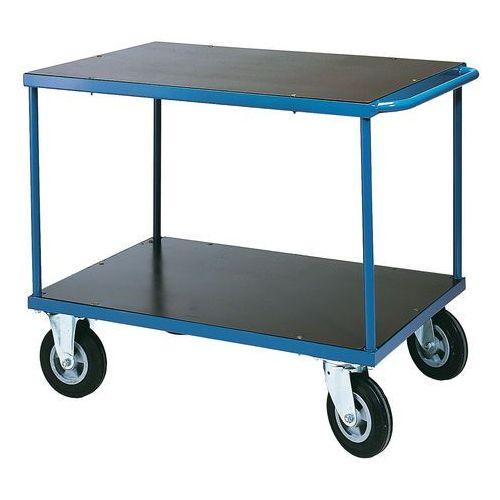 Wózek platformowy - platforma: 1000x700 mm bez hamulca marki Array