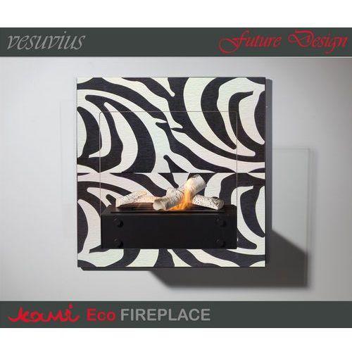 Biokominek Marapi Zebra by , Kami z ExitoDesign